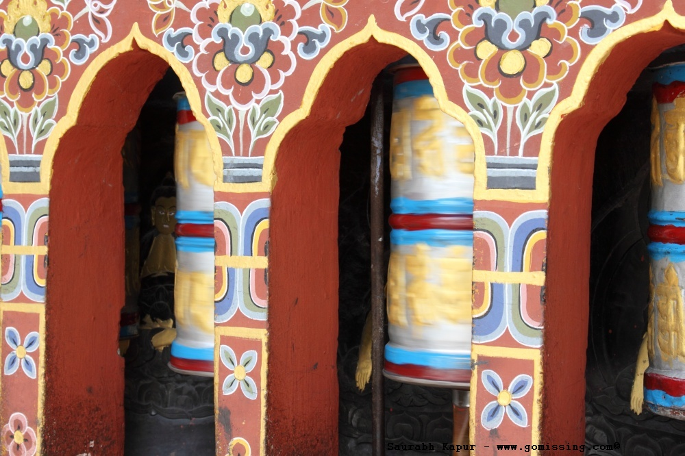 ...and have prayer wheels all over!