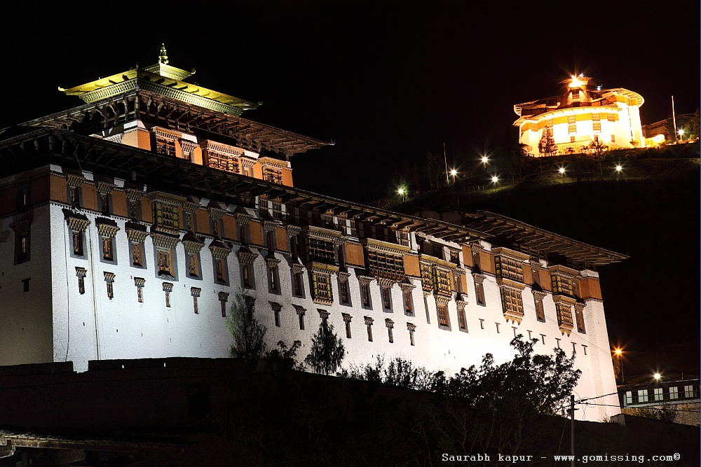 Museum-watching-over-paro-dzong