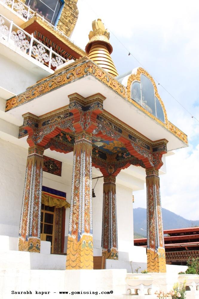 Thimpu Memorial Chorten - Design