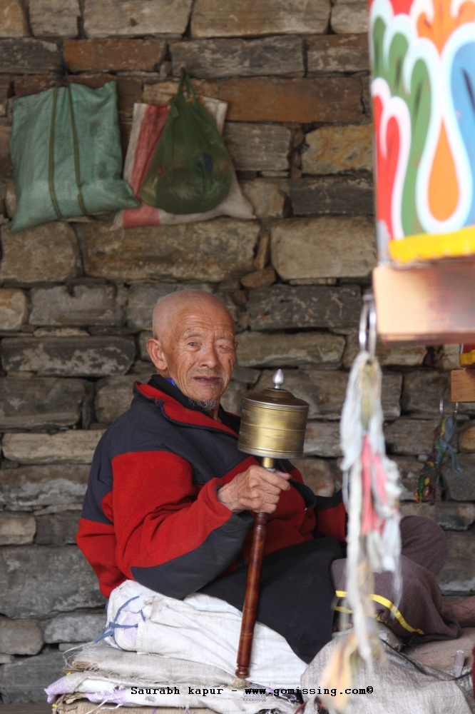 Prayer wheel, the wall and... my life