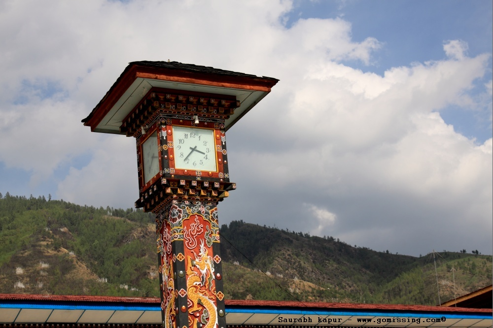 Clock Tower - Thimpu Downtown