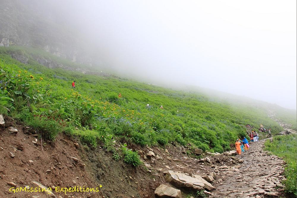 Trek to Hemkund Sahib, Uttarakhand