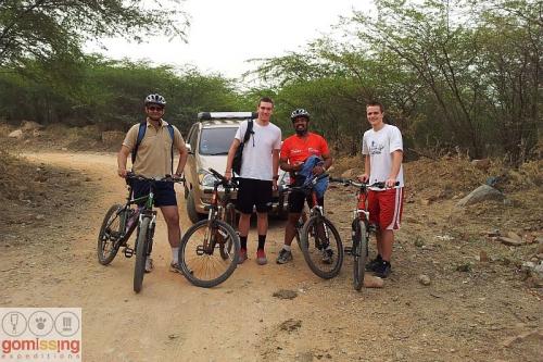 Beginning of the ride - Bhardwaj lake