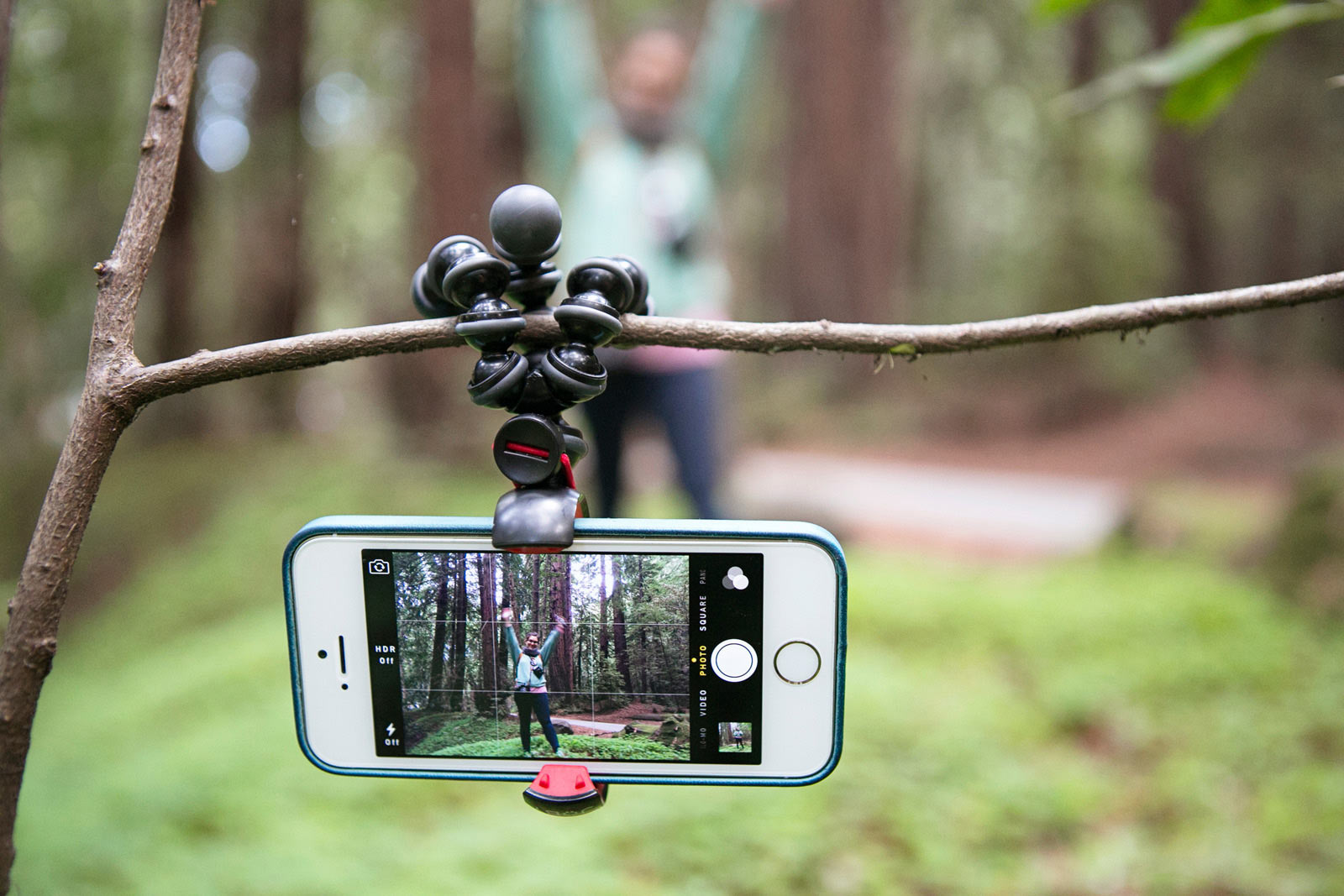 Gorilla pod for smart phones