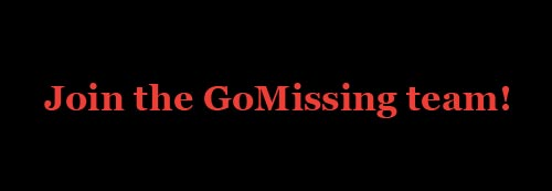 GoMissing is hiring
