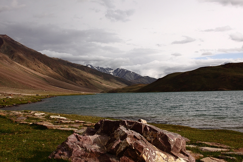Chandrataal lake in Spiti