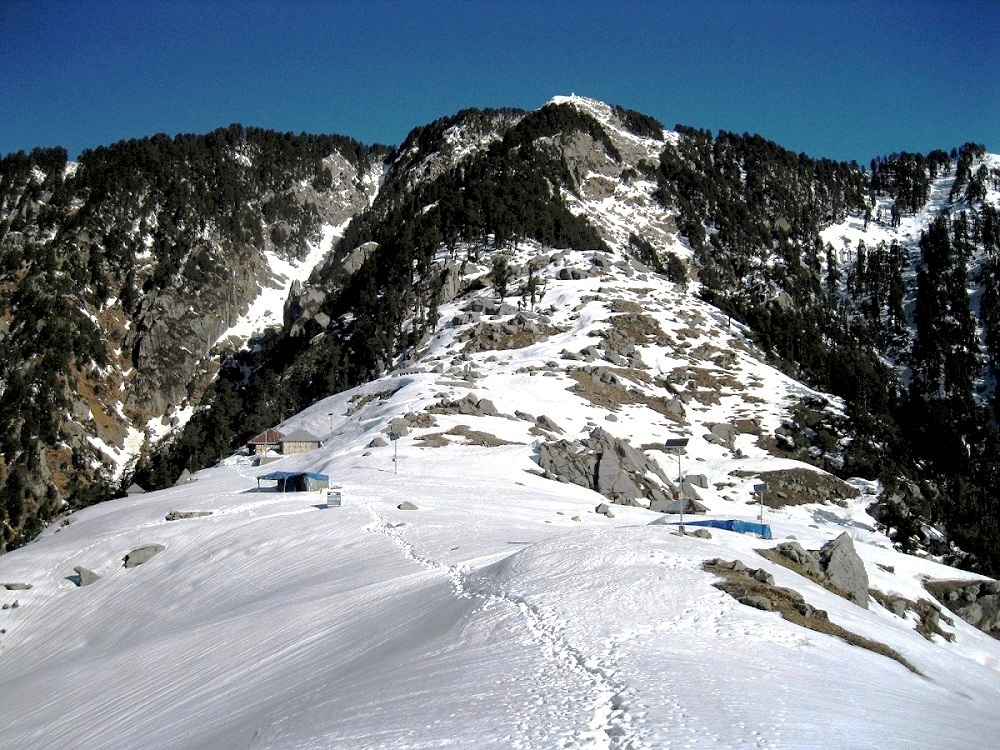 Photo: Triund Baba