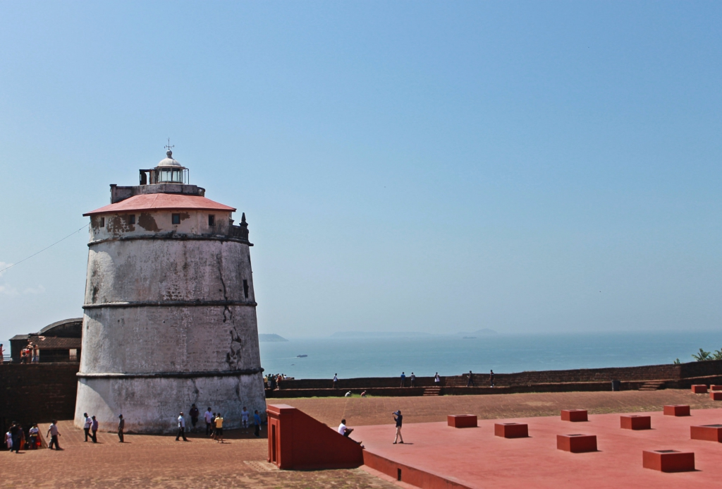 Light house at fort Aguada