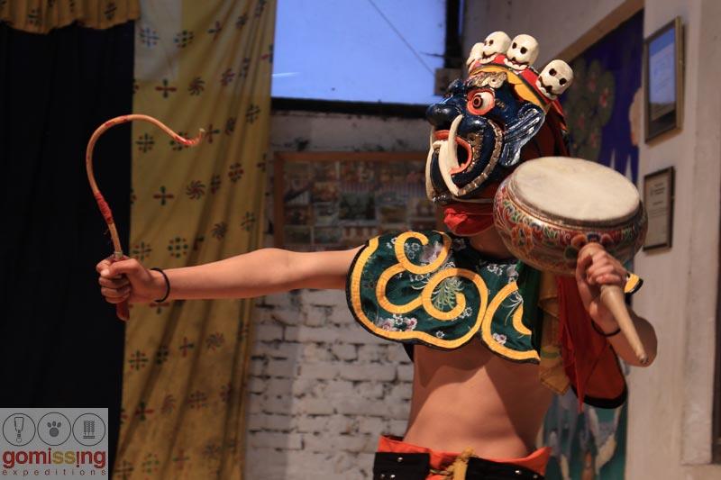 Masked dances in Bhutan