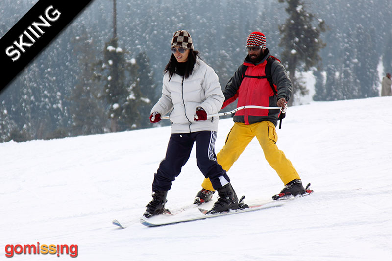 Skiing Trips to Gulmarg 5 Days