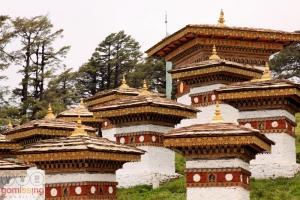 Stupas at Bhutan
