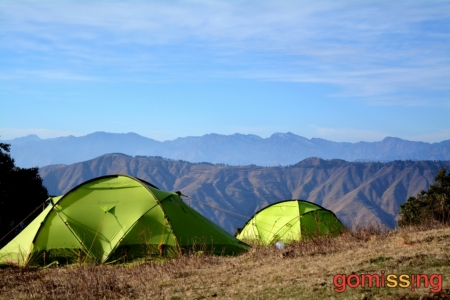 Campsite at Nag Tibba