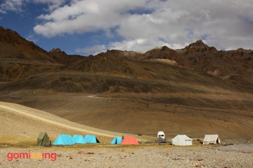 Manali Leh cycling expedition - GoMissing campsite