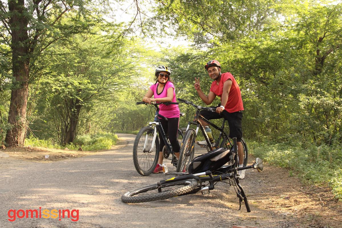 Najafgarh wetlands cycling trip