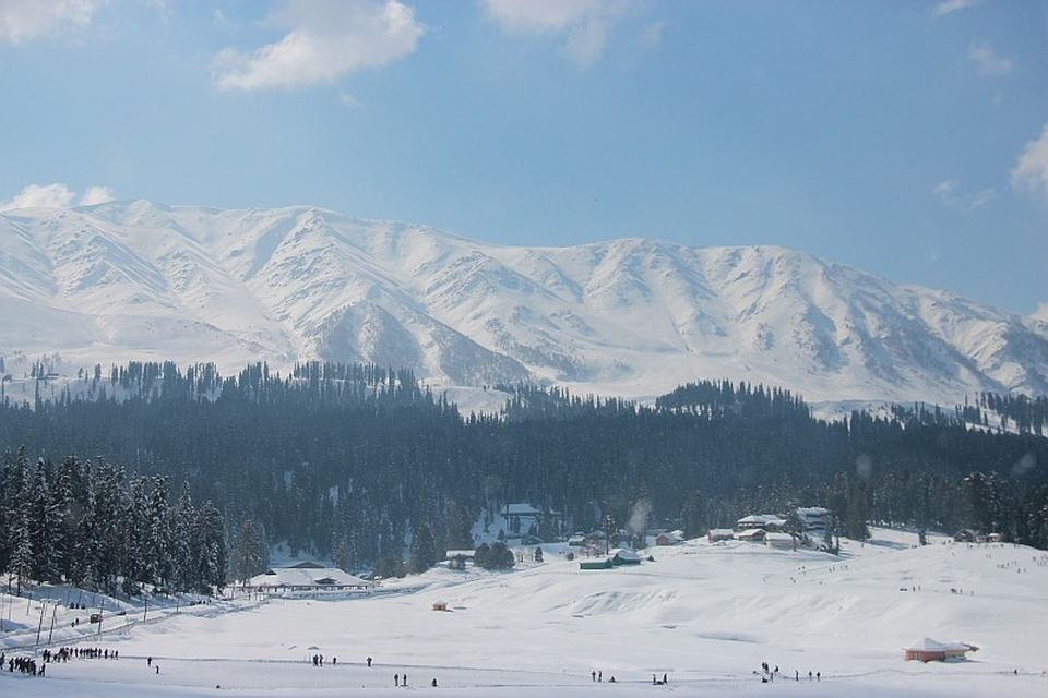 Snow Covered Gulmarg