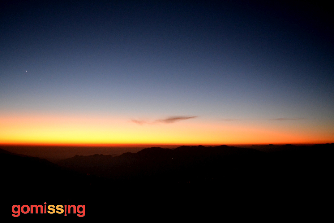 Sunset at Nag Tibba
