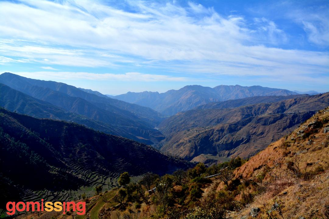 View from the Nag Tibba trek