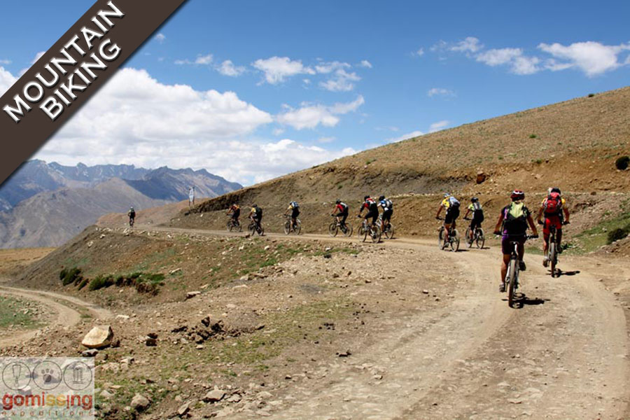Mountain biking expedition to Spiti valley