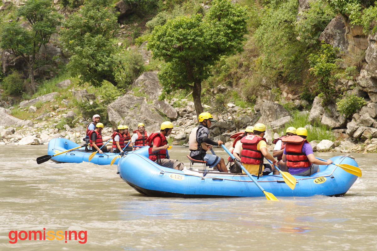 Thrilling Rafting on Tons