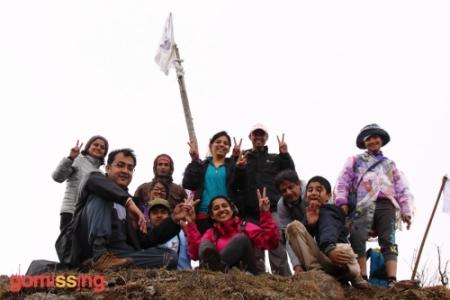 At Nag Tibba Top
