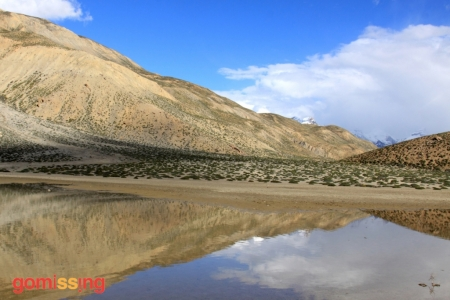 Dhankar lake - Spiti valley