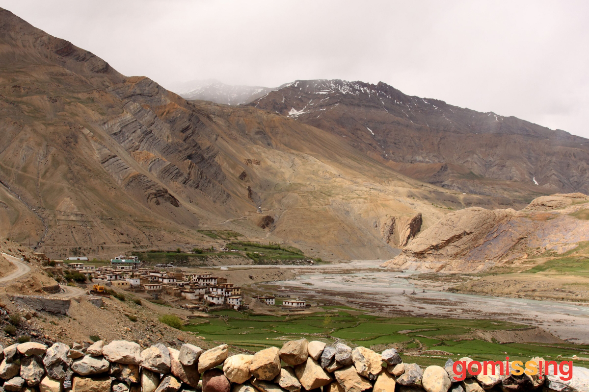 En route to Mud - Spiti