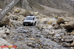 Driving from Kaza to Manali