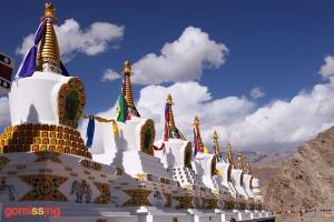 Thiksey Monastery Chortens