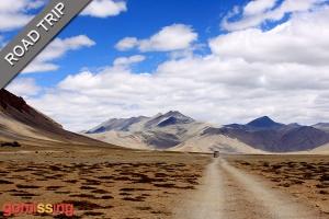 Moray plains en route to Ladakh