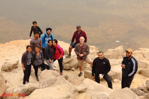 At the Bhardwaj lake - 1