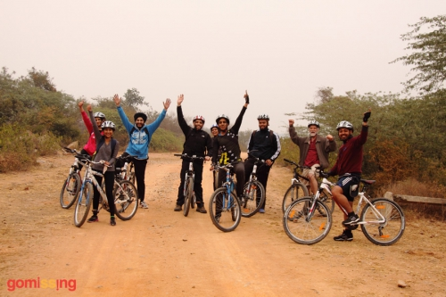 Bhardwaj lake cycling trail