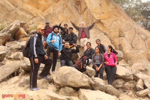 HKS team at Bhardwaj lake