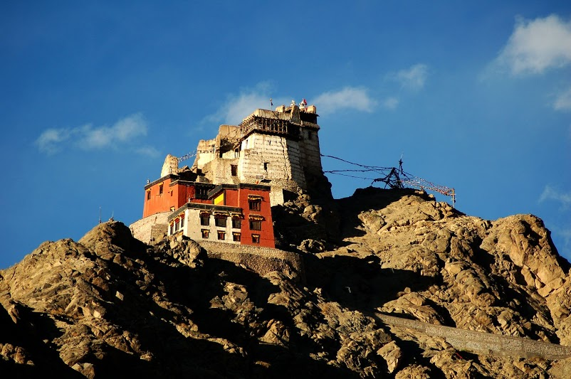 The majestic Leh Gompa