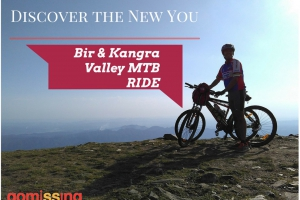 Bir and Kangra valley cycling tour