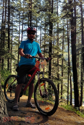 Cycling In the Manali Ecological park