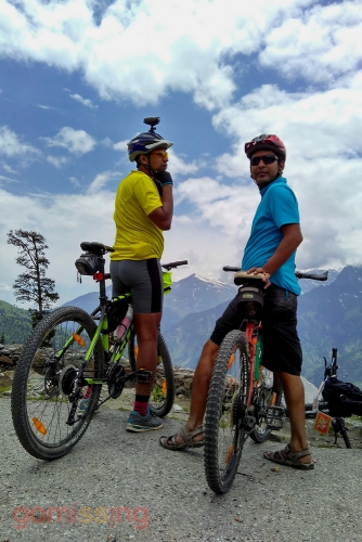 Cycling Manali to Marhi - Great views