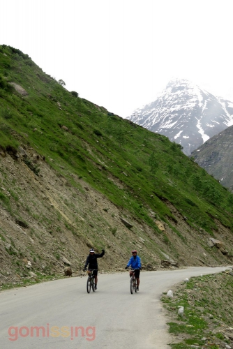 Cycling from Gramphoo to Sissu