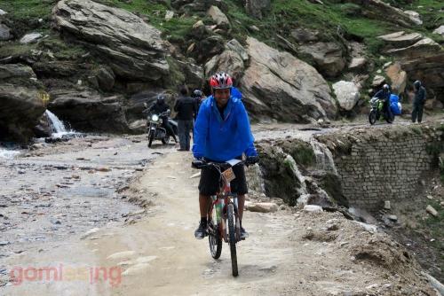Rohtang to Gramphoo - Cycle - no problem