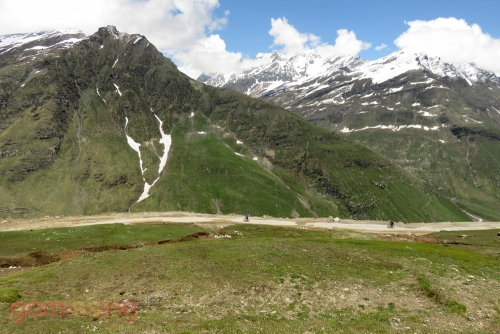 Rohtang to Gramphoo downhill cycling section