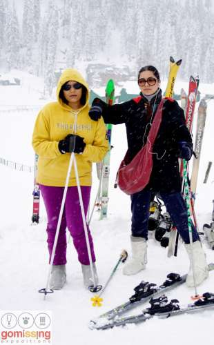 Basic skiing course in Gulmarg, 5 days