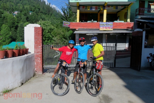 day 2 - Flag off from Manali