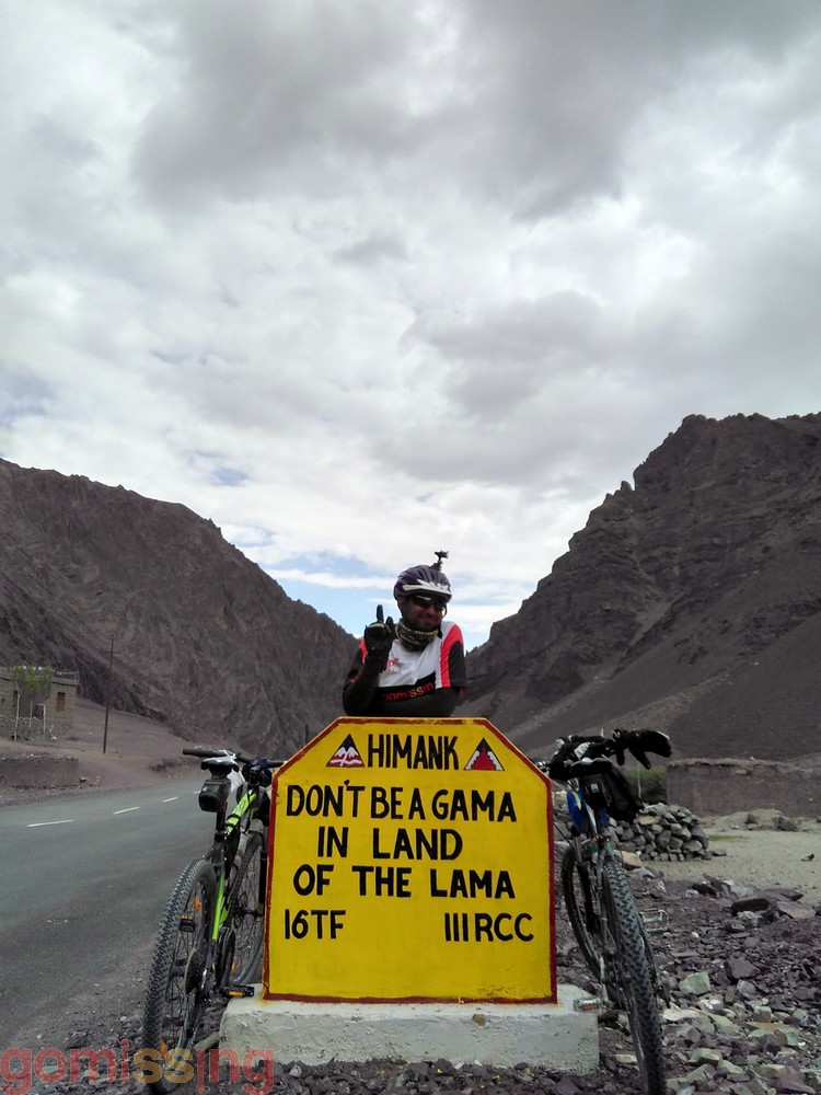 Ladakh Border Road Signs