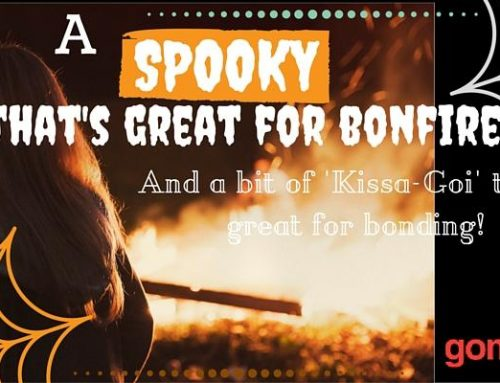 This Halloween, a Spooky Tale That's Great for Bonfires and a Bit of 'Kissa-Goi' That's Great for Bonding