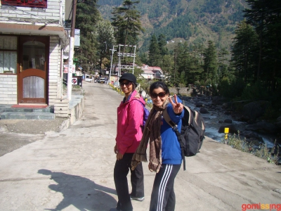 Beginning trek to beas kund