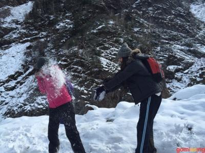 a bit of snow fun was inevitable