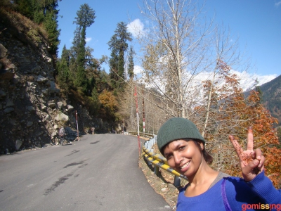 on way to bakkar thach