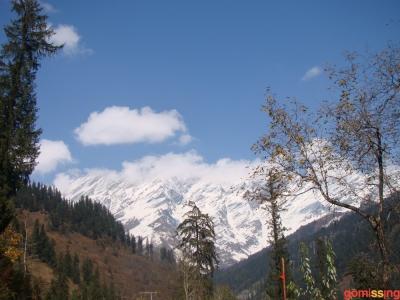 skyscape on way to bakkar beas kund