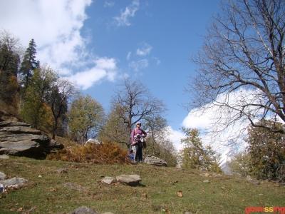 steep slope on way to bakkar thach