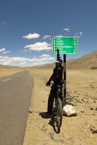 Manali Leh Mountain Biking Tour