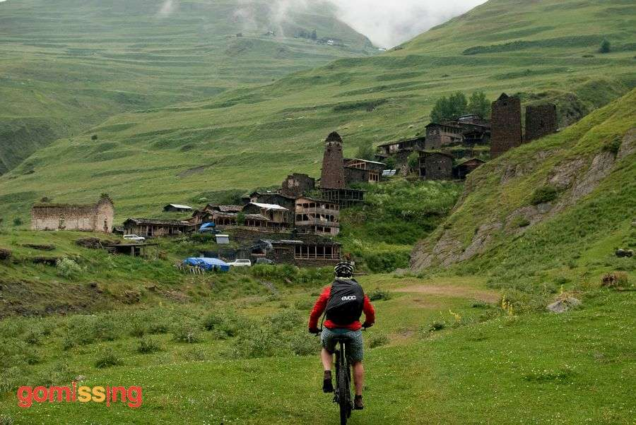 Caucaisan mountains cycling trip